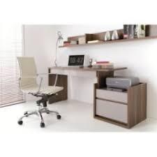 bureau imprimante bureau pour ordinateur et imprimante bureau bois gris