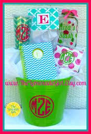 personalized basket personalized basket personalized graduation by thelemonadegirl