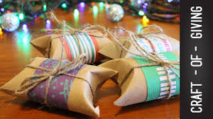 diy christmas pillow boxes craft of giving youtube