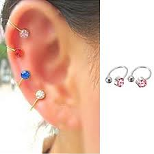 cuff earings 2017 clip on earrings for women rhinestone ear cuff jewelry
