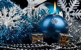 blue christmas blue christmas candle hd wallpaper