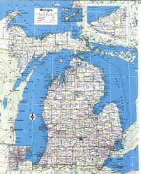 Topographical Map Of United States by Topographic Map Of Michiganfree Maps Of North America