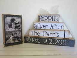 wedding shower gift sweetheart table photo on wood