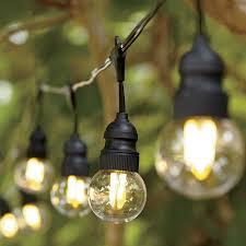 Light Bulb String Outdoor Clear Led Filament String Lights Cing Pinterest Lights