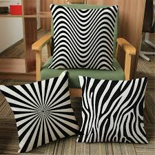 striped throw pillows cover for couch decorative office chair