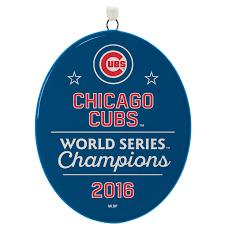 chicago cubs 2016 world series ornament keepsake ornaments