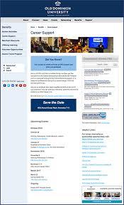 alumni website software odu alumni career support from your alumni association