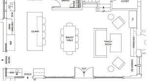 Floor Plans Open Kitchen And Living Room Open Floor House - Family room floor plans