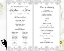 cheap printed wedding programs cheap program cheap wedding program budget unique