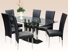 rectangular glass dining table vittorio greggoti walnut and glass