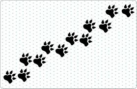 dog paw print free download clip art free clip art on