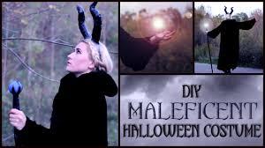 diy maleficent halloween costume youtube