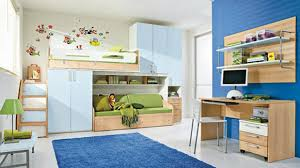 Kids Bunk Beds With Desk Plain Kids Bedrooms With Bunk Beds In Gallery Beach Style Bedroom