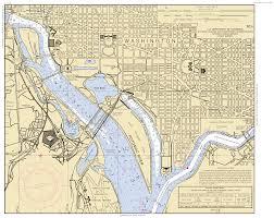Potomac River On Map Potomac River Washington Dc Maryland And Virginia Nautical Chart