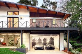 Modern House Garage Decorations Side Sliding Garage Doors With Fiberglass Material