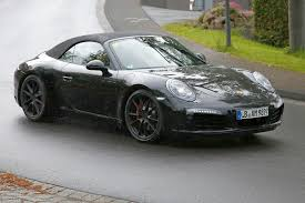 porsche 989 porsche 911 gts cabriolet caught on the nurburgring 6speedonline