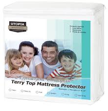 Vinyl Crib Mattress Cover by Mattress Pads U0026 Mattress Protectors Amazon Com