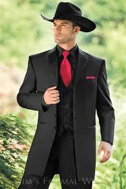 savannah black western tuxedo western collection style 834