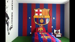 chambre a barcelone chambre du barça lionel messi stickers