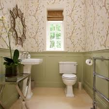 bathroom paneling ideas powder room traditional with pedestal sink