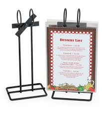 Restaurant Menu Covers Menu Stands Restaurant Table Tents Table Stands And Card