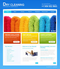 website design 43934 dry cleaning company custom website design