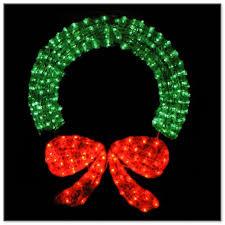 lighted christmas wreath led lighted christmas wreaths