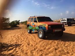orange jeep cherokee for sale jeep cherokee xj 2001 used cars ras al khaimah
