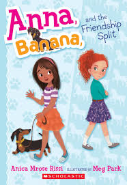 scholastic the first thanksgiving anna banana and the friendship split by anica mrose rissi
