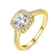 white gold wedding rings for women eternal women s 18k white gold plated cz