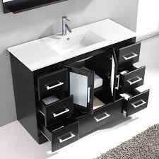 Zola Bathroom Furniture Virtu Usa Zola 48 Inch Single Sink Bathroom Vanity Set Free