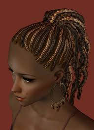 sims 3 african american hairstyles mod the sims nouk afro knot hair nice afro hair for ladies of