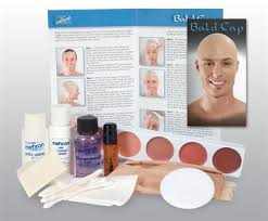 professional bald cap buy bald cap kit by mehron costumes wigs theater makeup and