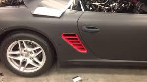 Porsche Boxster Custom - porsche sinister edition custom vinyl wrap boxster avery supreme