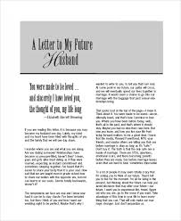 letters to my sle letters to my husband 7 exles in word pdf