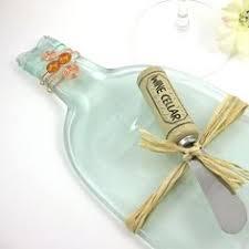 flattened wine bottle platter flattened bottle cheese plate recycled wine bottle tray bottle