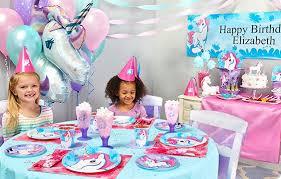 birthday supplies enchanted unicorn party supplies birthdayexpress