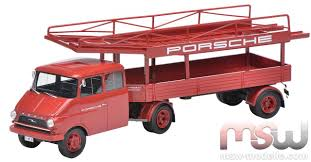 opel blitz model dickie schuco opel blitz porsche racing car carrier 1 43