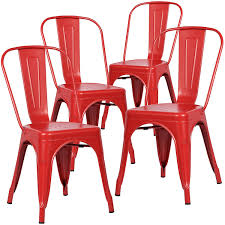 Tolix Bistro Chair Poly And Bark Trattoria Side Chair In Set Of 4