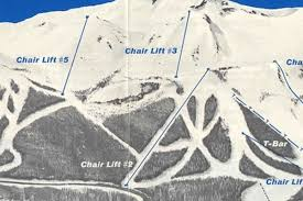 Mammoth Map Take A Look At This Mammoth Mountain Trail Map From 1965 Curbed Ski