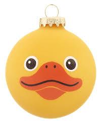 duck personalized ornament