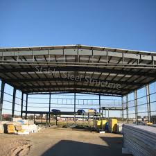 china prefabricated steel structure farm hangar with large space