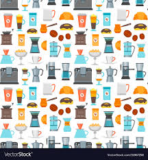 coffee shop background design coffee shop background pattern royalty free vector image