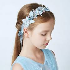 flower girl headbands online shop yy july headdress for children handmade pearl