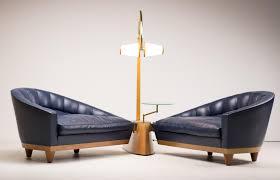 Esszimmerst Le Leder Blau Vintage Aladino Wohnzimmerset Aus Blauem Leder Von Massimo Scolari