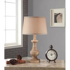 White Table Lamps Better Homes And Gardens Rustic Table Lamp White Washed Wood