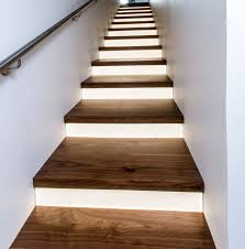 indoor stair lighting ideas led staircase lighting wall interior led stair lighting staircase