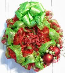 christmas wreath bow making simple design christmas wreath making
