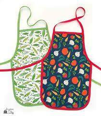 Designer Kitchen Aprons by Diy Kid U0027s Cooking Apron Bugaboocity