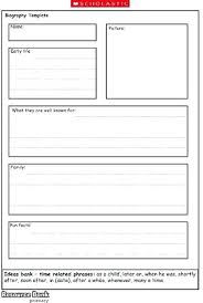 biography graphic organizer worksheets free biography template for students this free biography graphic